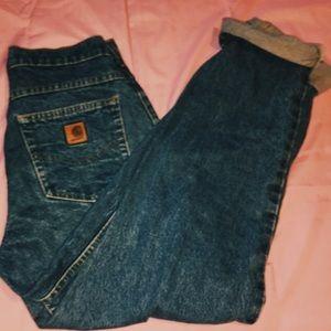 Carhartt mom jeans